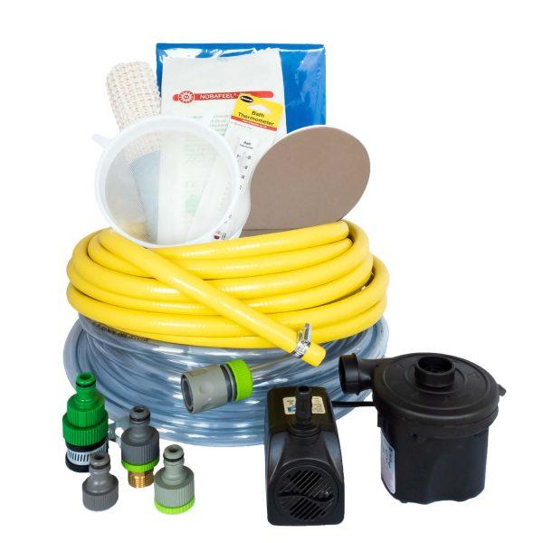 Oerbron Badpakket Uitgebreid voor een opblaasbaar bevalbad