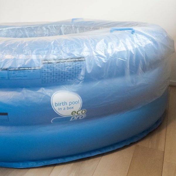 Oerbron Algemene bevalhoes voor opblaasbaar bevalbad zijkant
